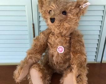 Steiff Teddy Bear 35 PB Baerle, Replica 1904 EAN 404108 Low Number