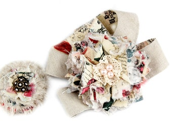 LINEN HEARTS COLLECTION   SugarSnap Harness