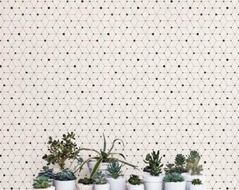 Minimalistic Geometric Removable Wallpaper / Self Adhesive Removable Wallpaper / Wall Mural / Wall covering - 121