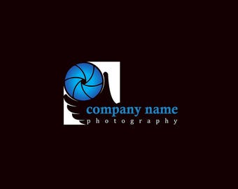8 ready made photography  logos with editable i vector files.