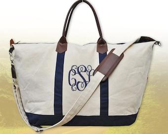 GOING FAST! Monogram Weekender Bag, Personalized Weekender Bag, Monogrammed Duffel Bags, Personalized Travel Overnight Bag