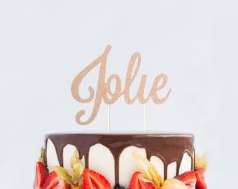 Custom Name Cake Topper, Personalized Name Cake Topper, Customized Cake Topper, Name Cake Topper, Baby Shower Name Topper, Baby Name Topper