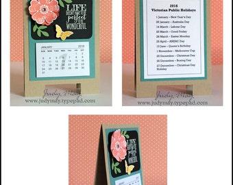 Craft Tutorial - Sandwich Board Calendar