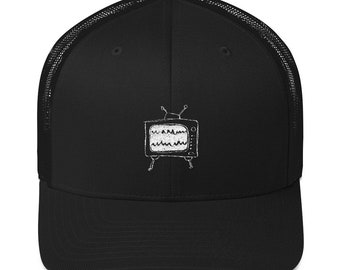 relaxed tv mesh cap