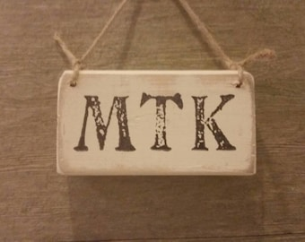 MTK sign abbreviation for Montauk