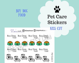 Buy Dog Food Planner Stickers