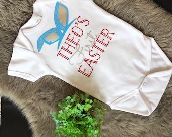 First Easter Onesies, Personilzed Onesie, New Baby