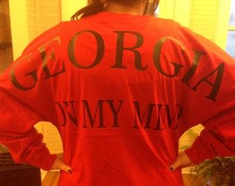 Georgia on my mind Pom Pom Jersey