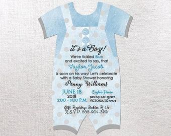 Baby boy invitations Etsy
