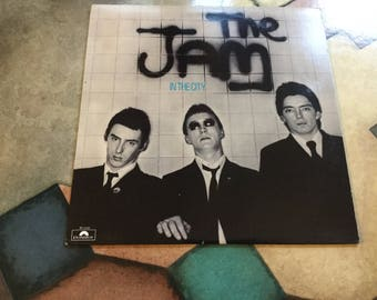 JAM In The City on Polydor Records UK MODS 1977