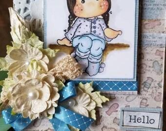Hello Friend! Greeting card