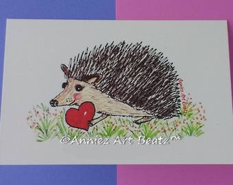 Valentine's day/anniversary/love cards/hand drawn cards