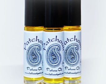 Patchouli Oil Fragrance Oil Roller Patchouli Perfume Vegan Perfume