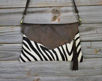 Hand Made Leather Crossbody Clutch CL-31