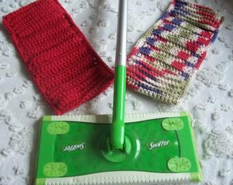 2- Handmade Crochet  Swiffer Covers