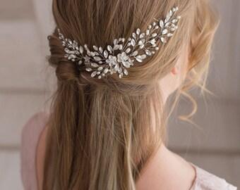 Bridal hair vine Bridal hair piece  Wedding headpiece Pearl hair piece Bridal headpiece Wedding hair vine Bridal hair accessories