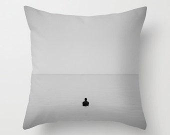 Surf Pillow Ocean Beach Pillow - Surfer Throw Pillow - 16x16 18x18 20x20 Pillow Cover