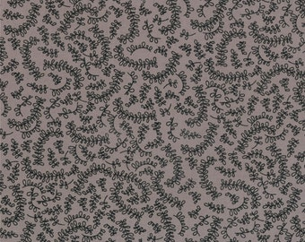 Floral Fabric - Vine from Road 15 by Sweetwater for Moda Fabrics 5525 16 Mist - 1/2 yard