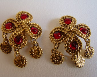 Atalante - Yves Saint Laurent sub-brand -  earrings