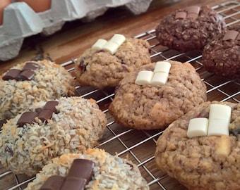 New! 14 Half & Half Variety Box Lactation Cookies
