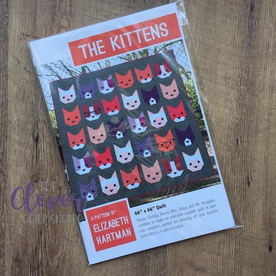 The Kittens, Elizabeth Hartman Quilt Pattern