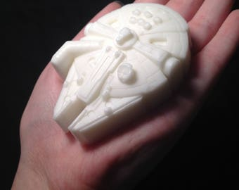 ORGANIC Nerdy Strawberry Scented Space Ship Soap!