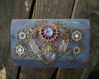 Steampunk galaxy little box