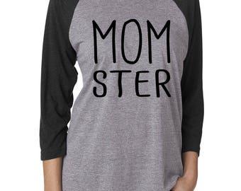 Halloween t-shirt, Womens halloween shirt, halloween shirt, tee shirt, t shirt, womens, women's shirt, halloween, momster, mom shirt