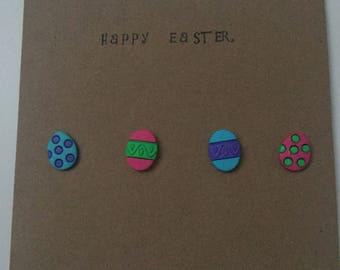 Easter Card Happy Easter Card Handmade Greetings Card