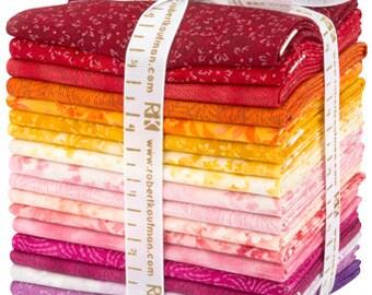 Great Deals Courtyard Textures Bundle Studio RK WARM Colorstory Fat Quarter bundle for Robert Kaufman fabric