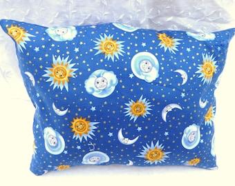 Sun and Moon Pillow / Novelty pillow / Home & Living / men / women / universe / Pillow