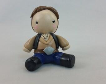 Polymer Clay Han Solo inspired figurine