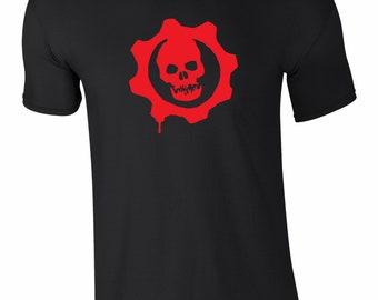 Gears of War Cog Logo Gaming T-Shirt - Gaming Tee - All Sizes