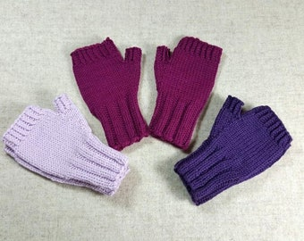 Fingerless Gloves organic for toddlers, many colors, hand warmers baby, wool merino, handknitted arm warmers, mittens wool sustainable