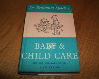 Dr Benjamin SPOCK-Baby And Child Care-SIGNED-1963-hb-vg-Bodley Head-V Rare-What An INKVESTMENT