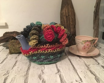 PDF pattern - crochet pattern -pdf crochet pattern - teacosy pattern - teacozy pattern -teapot cosy- crochet teacosy