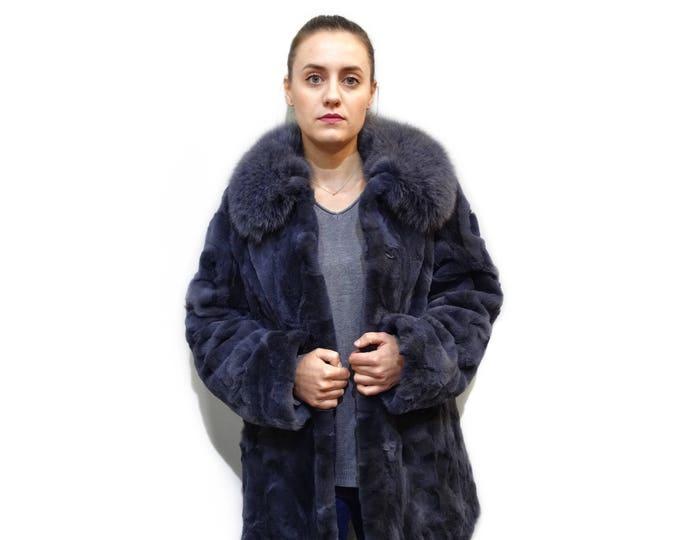 Grey Fox Coat F732