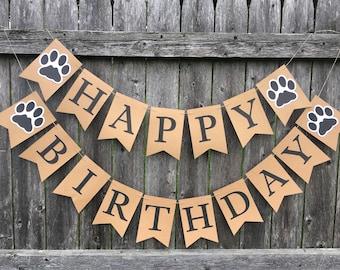 Dog Birthday Etsy