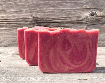 Guava Fig-Handmade Artisan Goats Milk Soap-Cold Process Soap