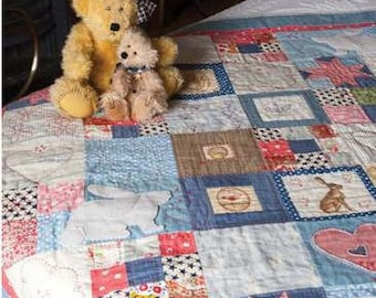 Childhood Memories Quilt Pattern Download 884181