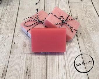 strawberry bon bon soap bar