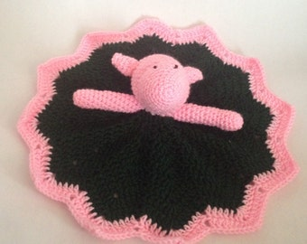 Crochet classic Piglet from Winnie the Pooh lovey, , baby shower