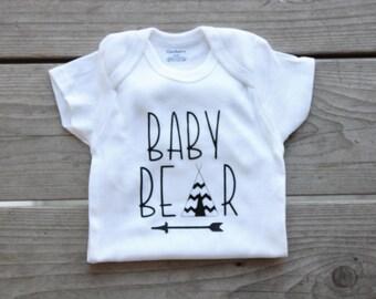 Baby Bear Onesie, Baby Shower Gift, It's a Boy
