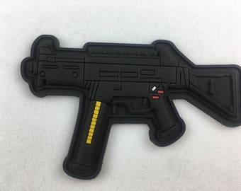 UMP Rifle PVC Morale Patch
