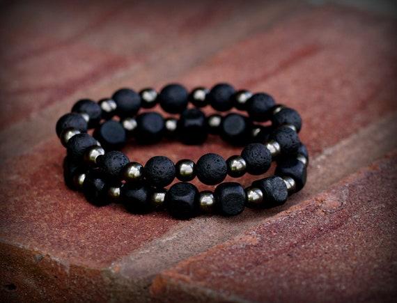 Bead Bracelet , Lava Rock Bracelet, Wooden Bead Bracelet, Men's Bracelet, Women's Bracelet, Men's Bead Bracelet, Women's Bead Bracelet