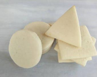 Simply Sugar Cookies - Delicious Sugar Cookies - Undecorated Sugar Cookies - Cut Out Cookies - Gourmet Cookies