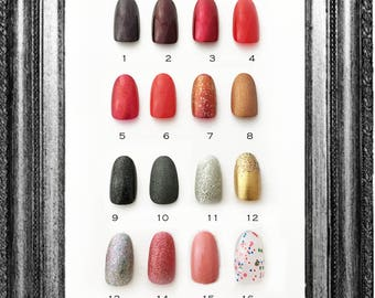 Oval Almond Press On Nails | Plain Color Nails | Glossy or Matte Press On Nails | Glue On False Nails l Clear Nails | One Color Acrylic Nail