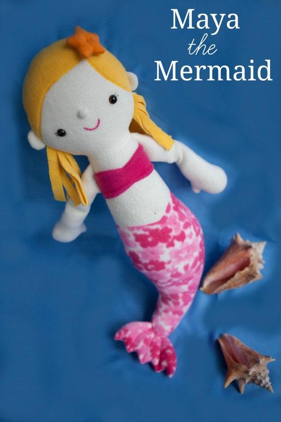 Maya the Mermaid PDF Sewing Pattern with Step-by-Step Photos