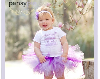 Purple Tutu Set Mother's Day Tutu Dress Set Mothers Day Baby 9 12 18 Months