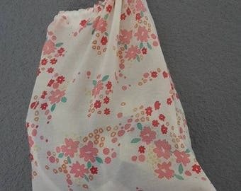 baby bag large tote or to customize light pink floral Pajama bag